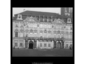 Palác Goltz-Kinských (301-1), Praha 1959 září, černobílý obraz, stará fotografie, prodej