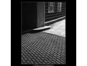 Dlažba (462), Praha 1959 , černobílý obraz, stará fotografie, prodej