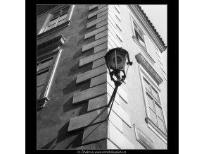 Roh s lucernou (543), Praha 1959 , černobílý obraz, stará fotografie, prodej