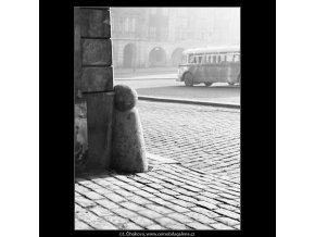 Patník (560-4), Praha 1959 , černobílý obraz, stará fotografie, prodej