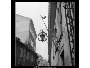 Na Staré zbrojnici (567-2), Praha 1959 , černobílý obraz, stará fotografie, prodej