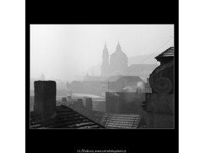 Chrám sv.Mikuláše (730), Praha 1959 , černobílý obraz, stará fotografie, prodej