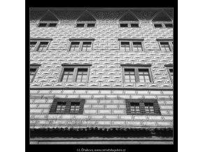 Fasáda po opravě (745), Praha 1959 , černobílý obraz, stará fotografie, prodej