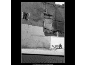 Na Perštýně (617), Praha 1960 květen, černobílý obraz, stará fotografie, prodej