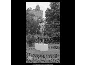 Radostné mládí (635-1), Praha 1960 červen, černobílý obraz, stará fotografie, prodej