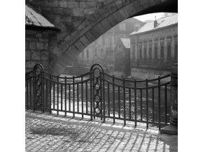 Zábradlí u Čertovky (6214), Praha, 1969 leden