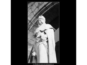 Jan Roháč z Dubé (667-1), Praha 1960 červen, černobílý obraz, stará fotografie, prodej