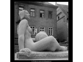 Hrnčířka (712-4), Praha 1960 červen, černobílý obraz, stará fotografie, prodej