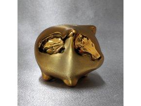 401436 I pokladna-prasatko-gold-mini