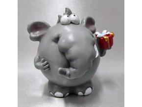 401404 C I pokladna-slon-darecek