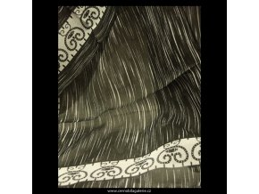 Šátek big black