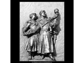 Síň Sovětské armády (990), Praha 1960 listopad, černobílý obraz, stará fotografie, prodej