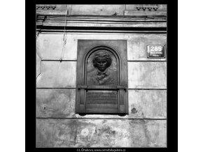 Pamětní deska L.van Beethovena (932-2), Praha 1960 , černobílý obraz, stará fotografie, prodej