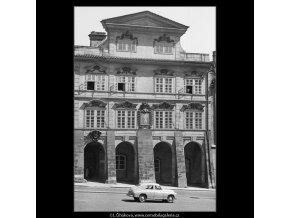 Šternberský palác (865), Praha 1959 , černobílý obraz, stará fotografie, prodej