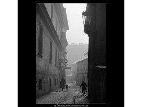 Všehrdova ulice (744), žánry - Praha 1959 , černobílý obraz, stará fotografie, prodej