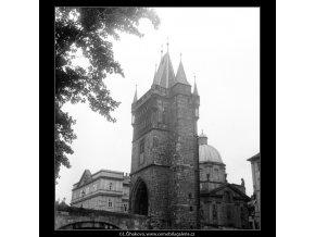 Staroměstská věž (1254-4), Praha 1961 , černobílý obraz, stará fotografie, prodej