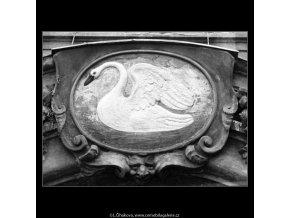 U Bílé labutě (1256-6), Praha 1961 , černobílý obraz, stará fotografie, prodej