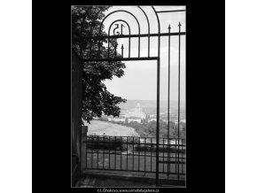 Hotel Družba (1267), Praha 1961 , černobílý obraz, stará fotografie, prodej