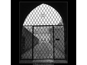 Mřížová vrata (1501-2), Praha 1962 březen, černobílý obraz, stará fotografie, prodej