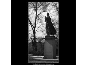 Božena Němcová (1519-1), Praha 1962 březen, černobílý obraz, stará fotografie, prodej