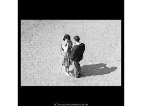 U Národního divadla (1648-1), Praha 1962 červen, černobílý obraz, stará fotografie, prodej