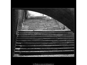 Poezie španělského schodiště (1692), Praha 1962 červenec, černobílý obraz, stará fotografie, prodej