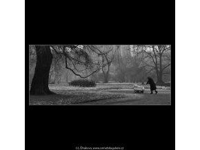 Cesta (1418-4), žánry - Praha 1962 leden, černobílý obraz, stará fotografie, prodej