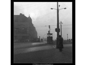 Doprava (1425-2), žánry - Praha 1962 , černobílý obraz, stará fotografie, prodej