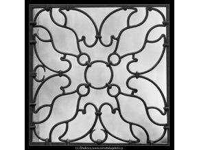 Mřížové ozdoby (1721-1), Praha 1962 červenec, černobílý obraz, stará fotografie, prodej