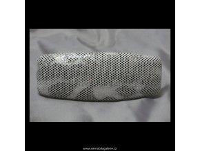 Spona snake bílá