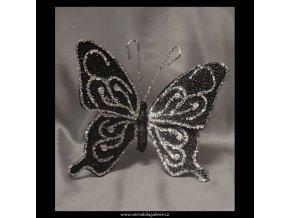Motýl flitr big