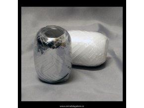 Stuha 5 pelot stříbrná