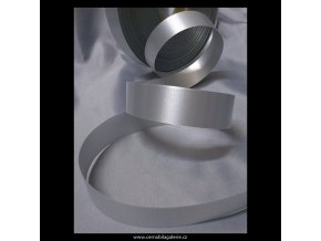 Stuha 19 stříbrná