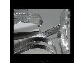 Stuha 8 lámová stříbro