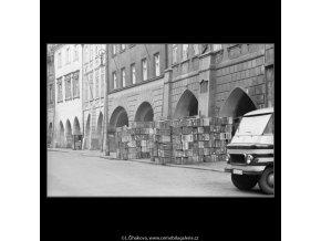 Bedny v Havelské ulici (2131-4), Praha 1963 duben, černobílý obraz, stará fotografie, prodej
