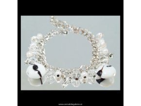 490 naramek retizkovy perle