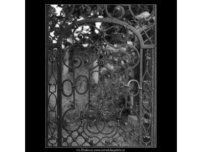 Mřížová vrata (2229-7), Praha 1963 červen, černobílý obraz, stará fotografie, prodej