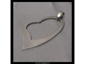 496 srdce obrys mat