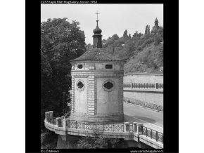 Kaple Máří Magdaleny (2277), Praha 1963 červen, černobílý obraz, stará fotografie, prodej