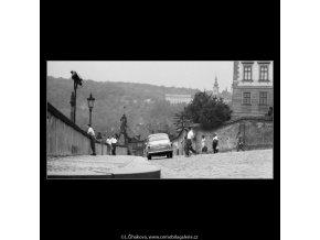 Hradní vyhlídka (2342-1), Praha 1963 srpen, černobílý obraz, stará fotografie, prodej