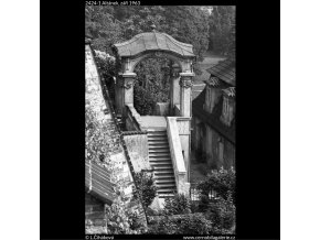 Altánek (2424-1), Praha 1963 září, černobílý obraz, stará fotografie, prodej