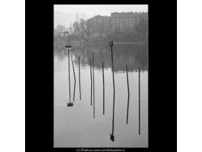 Úvaziště (2629-3), žánry - Praha 1964 leden, černobílý obraz, stará fotografie, prodej