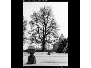 Královský letohrádek (2654-1), Praha 1964 leden, černobílý obraz, stará fotografie, prodej