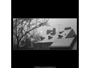 Kampa (2664-2), žánry - Praha 1964 leden, černobílý obraz, stará fotografie, prodej