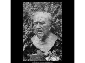 Max Švabinský (2665-2), Praha 1963 prosinec, černobílý obraz, stará fotografie, prodej
