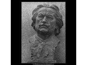 František Ondříček (2665-5), Praha 1963 prosinec, černobílý obraz, stará fotografie, prodej