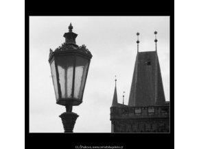 Lucerna a Novoměstská brána (2833-2), Praha 1964 duben, černobílý obraz, stará fotografie, prodej