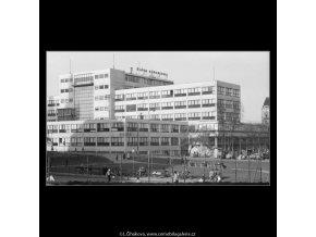 Budova DP (2845-1), Praha 1964 duben, černobílý obraz, stará fotografie, prodej