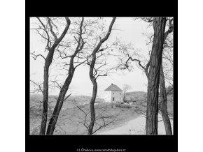 Domek na návrší (2901-1), Praha 1964 květen, černobílý obraz, stará fotografie, prodej