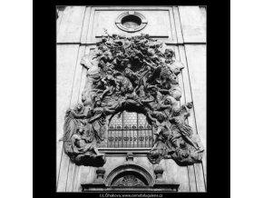 Chrám sv.Jakuba (2922-3), Praha 1964 květen, černobílý obraz, stará fotografie, prodej